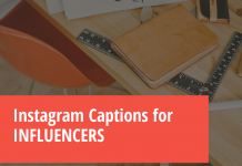 Instagram Captions For Influencers  - Instagram Captions for INFLUENCERS 218x150 - 10,000+ Instagram Captions 2021 – Boys, Girls, Friends, Wishes & Selfies