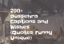 200+ Dussehra Captions And Wishes (quotes Funny Unique)