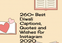 260+ Best Diwali Captions, Quotes And Wishes For Instagram 2020