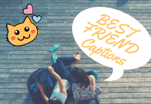 Best Friend Instagram Captions & Quotes