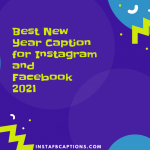 Best New Year Caption For Instagram And Facebook 2021