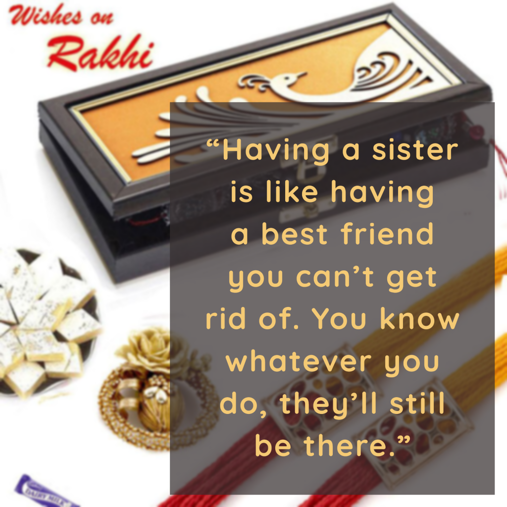 Rakshabandhan Quotes for Sister  - My Post 1 1 2 1024x1024 - 180+ Best RAKSHABANDHAN Captions, Quotes & Wishes for Instagram 2021