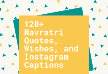 120+ Navratri Quotes, Wishes, And Instagram Captions