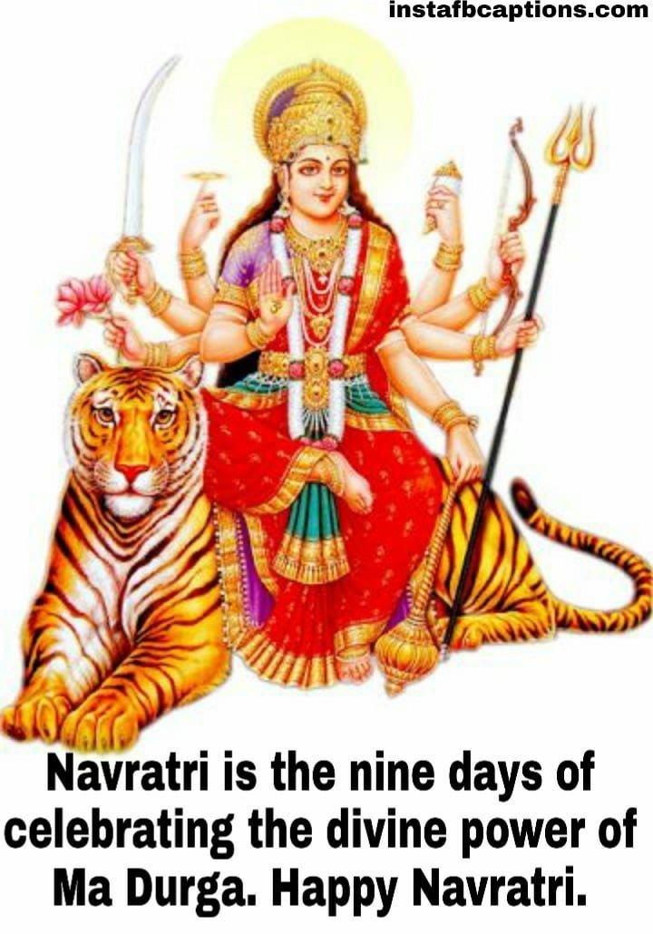 Inspiring Navratri Quotes  - PicsArt 07 03 08 - 120+ Navratri Quotes, Wishes, and Instagram Captions