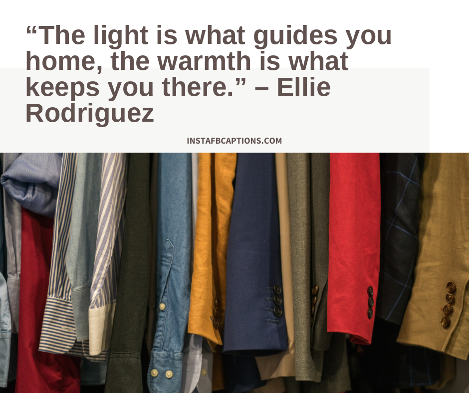 House anniversary quotes  -    The light is what guides you home the warmth is what keeps you there - 300+ Housewarming captions (Indian Anniversary Apartment)