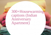 300housewarming Captions Indian Anniversary Apartment