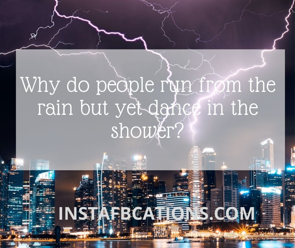 Storm Instagram Captions  - Charles M - Monsoon Rainy Day Captions ||(Cloudy Storm Raindrops)