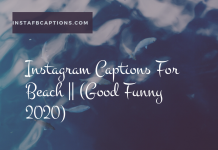 Instagram Captions For Beach Good Funny 2020