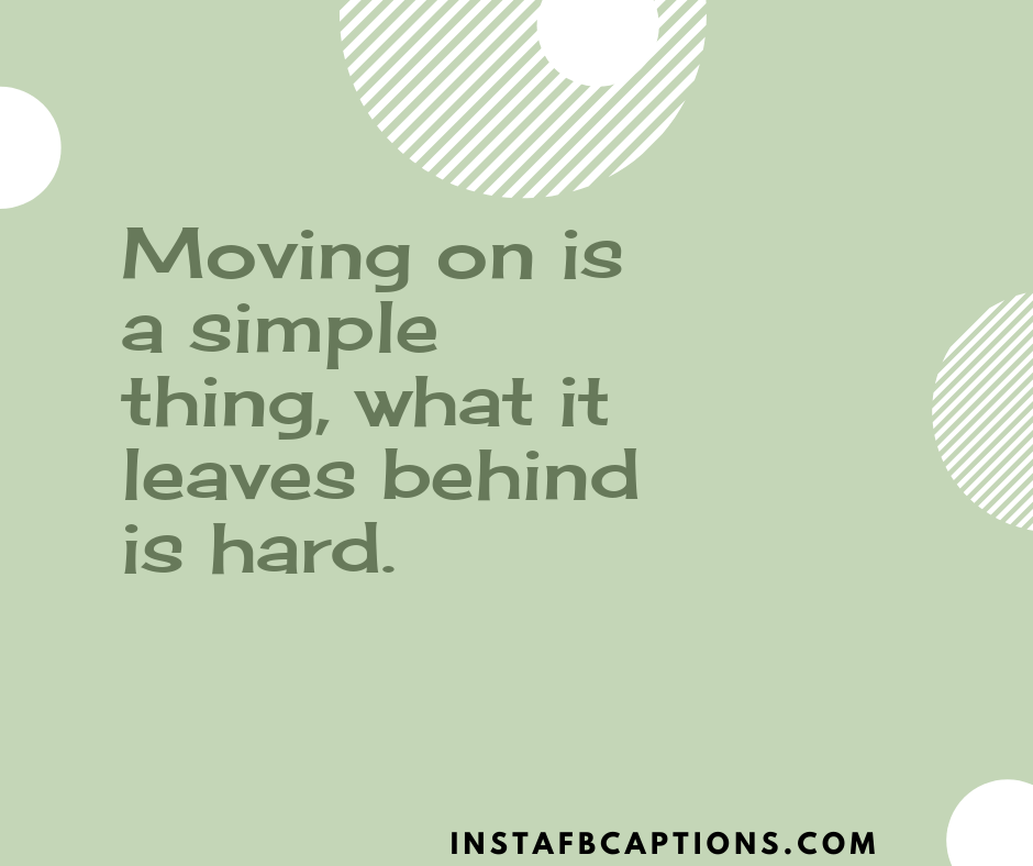 Moving On Is A Simple Thing, What It Leaves Behind Is Hard  - Moving on is a simple thing what it leaves behind is hard - Vidaai Captions For Instagram || (Sad Funny Bride)