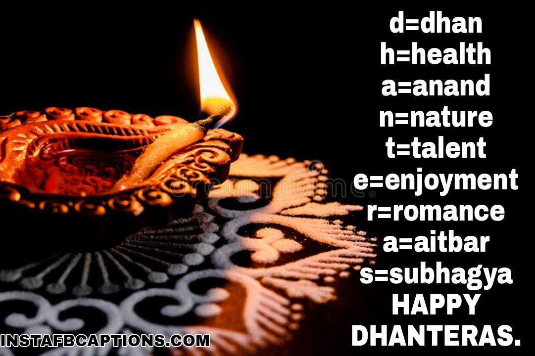 d=dhan h=health a=anand n=nature t=talent e=enjoyment r=romance a=aitbar s=subhagya so HAPPY DHANTERAS.  - WhatsApp Image 2020 10 28 at 01 - Dhanteras Captions, Quotes and Wishes|| (Images  Happy SMS Status)