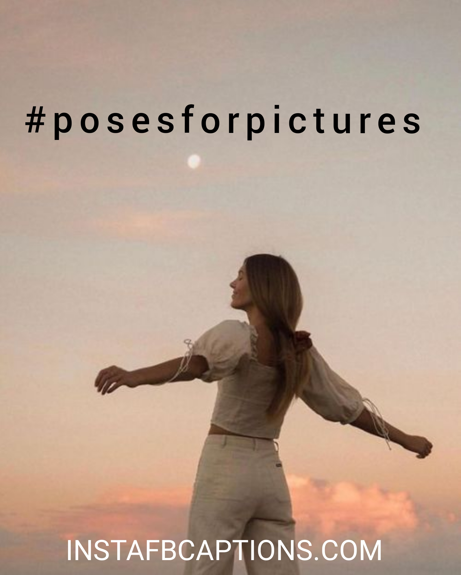 #posesforpictures  - posesforpictures - Standing pose captions|(side look attitude model)