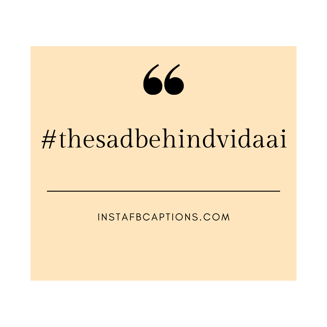 #thesadbehindvidaai  - thesadbehindvidaai - Vidaai Captions For Instagram || (Sad Funny Bride)