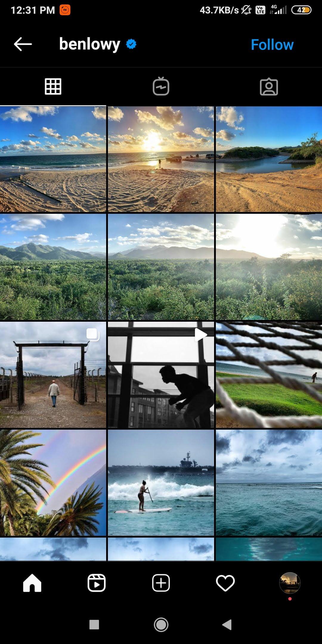 @benlowy  -  benlowy - 43 Best PHOTOGRAPHY Instagram Accounts  – PHOTOGRAPHERS to Follow Right Now