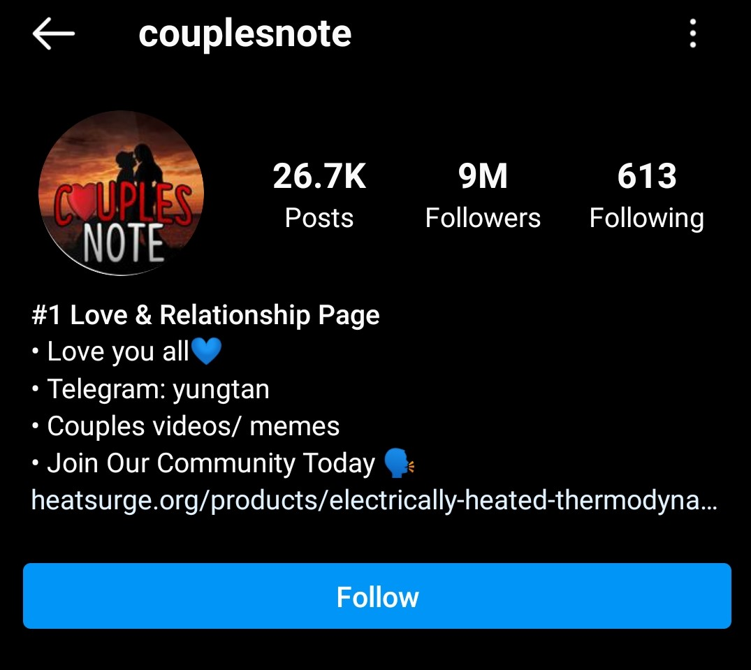 @couplesnote  -  couplesnote - 21 Top MEME INSTAGRAM ACCOUNTS 2021 – Funny & Epic Memes Daily