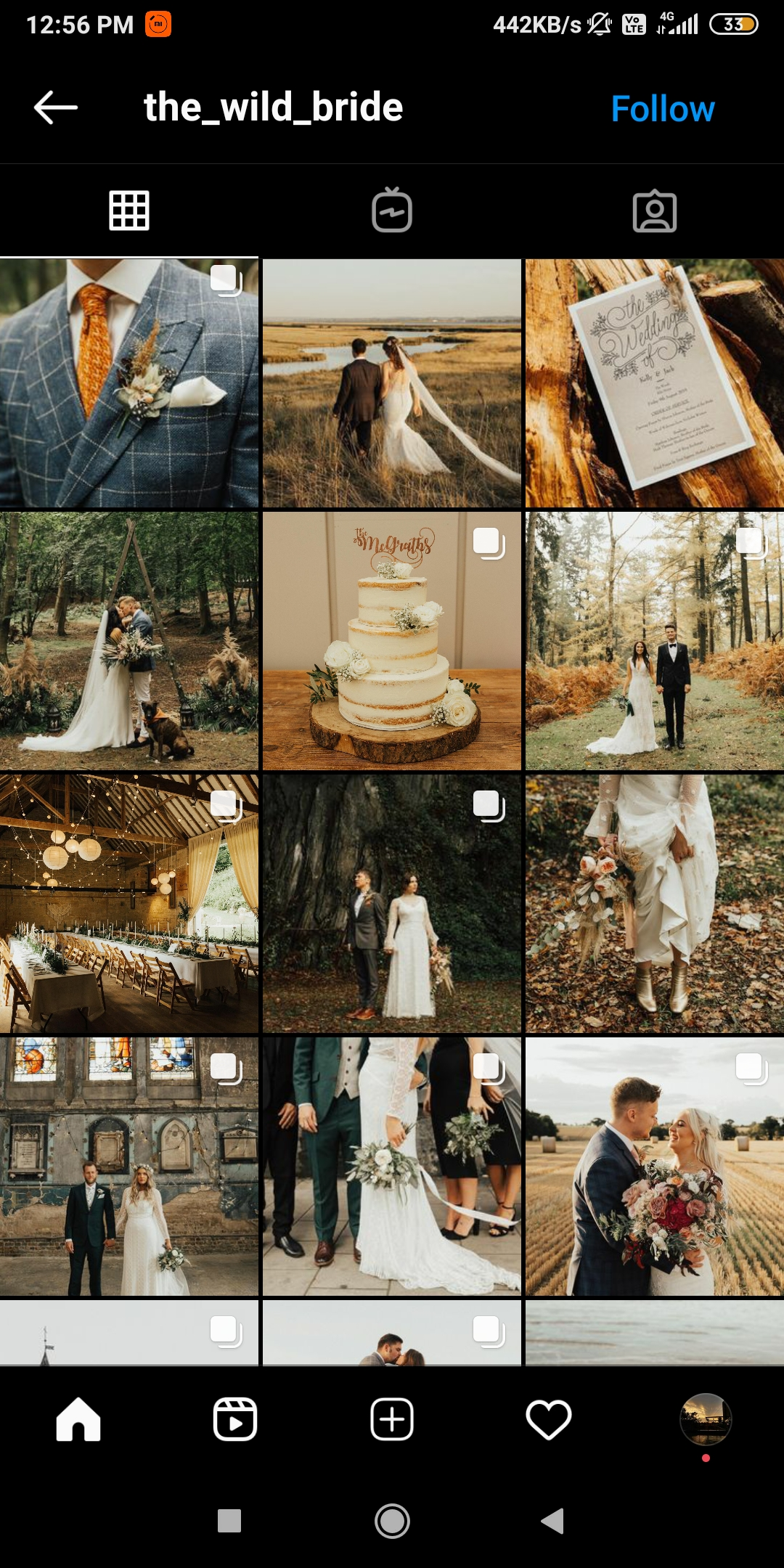 @wildbride  -  wildbride - 43 Best PHOTOGRAPHY Instagram Accounts  – PHOTOGRAPHERS to Follow Right Now