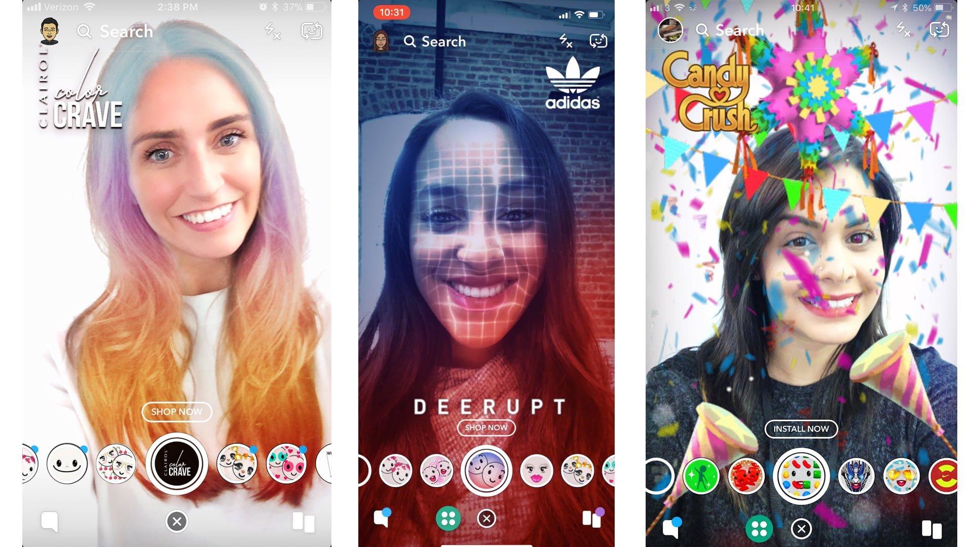 Adidas And Candy Crush Sponsored Lenses  - Adidas and Candy Crush Sponsored Lenses - MAKE MONEY on SNAPCHAT – 4 Methods