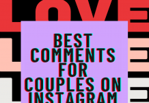 Best Comments For Couples On Instagram