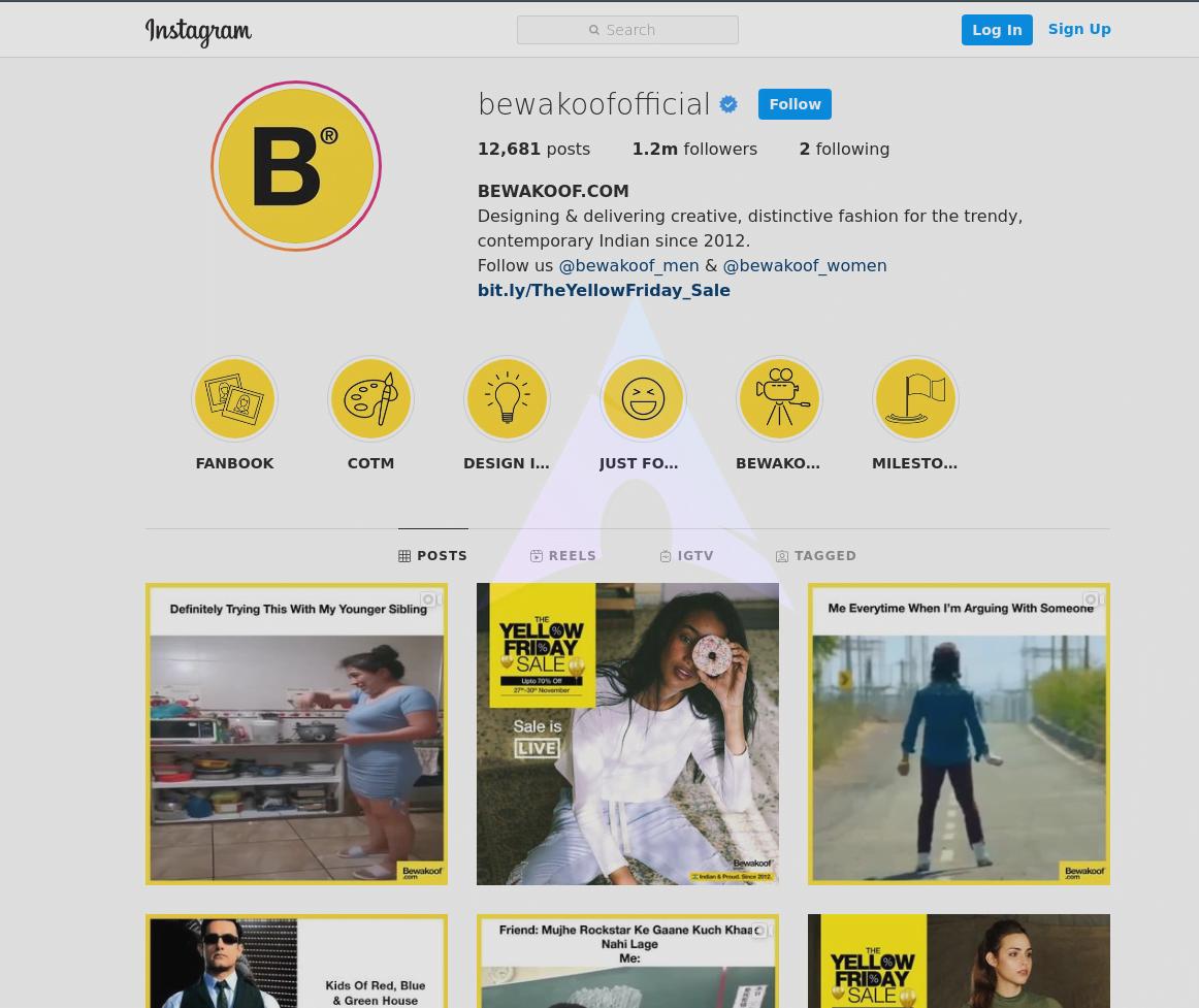Bewakoof Instagram  - Bewakoof Instagram - 50+ SHOPPING Instagram ACCOUNTS for Clothes, Shoes, Jewellery 2021