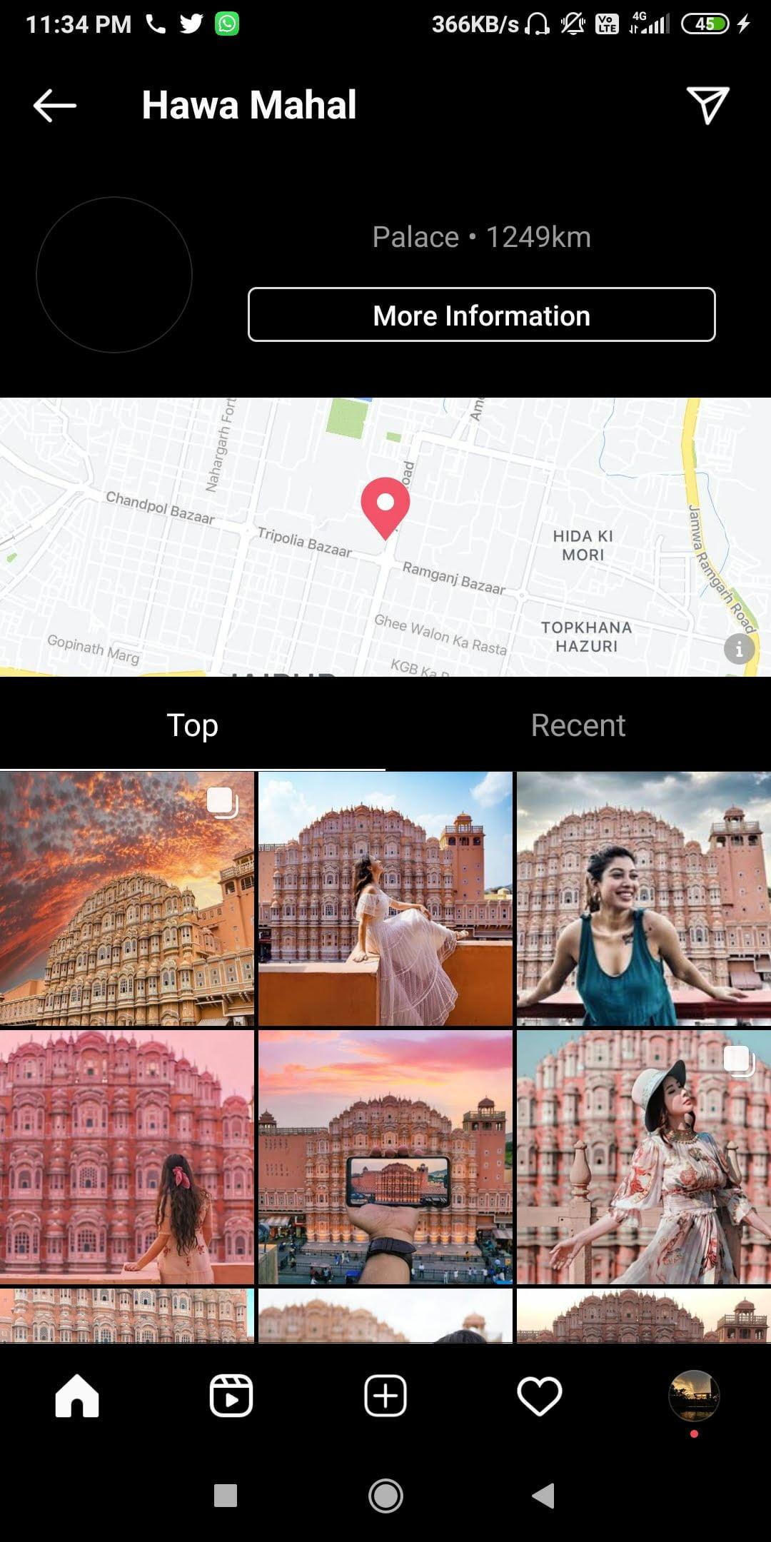 Browsing Locations  - Browsing locations - 34 Instagram HACKS & TRICKS to Explore in 2021