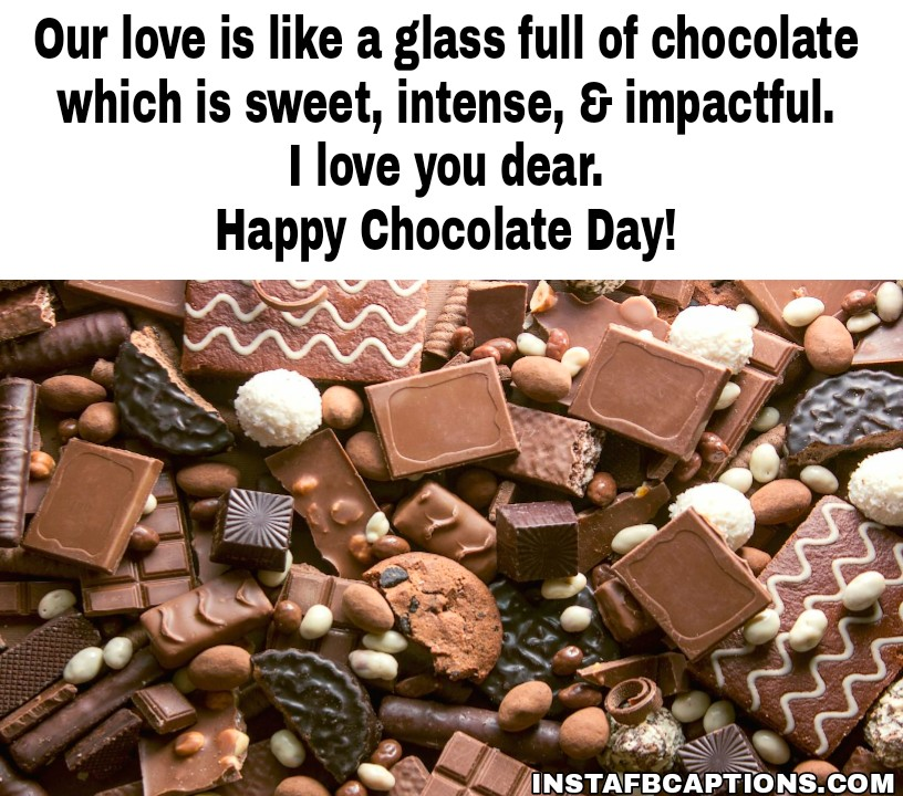 Chocolate Day Messages And Quotes For Husband  - Chocolate Day Messages and Quotes for Husband - 250+ CHOCOLATE DAY Instagram Captions & Quotes 2021