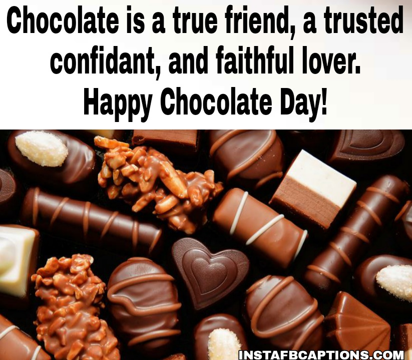 Chocolate Day Messages For Friend  - Chocolate Day Messages for Friend - 250+ CHOCOLATE DAY Instagram Captions & Quotes 2021