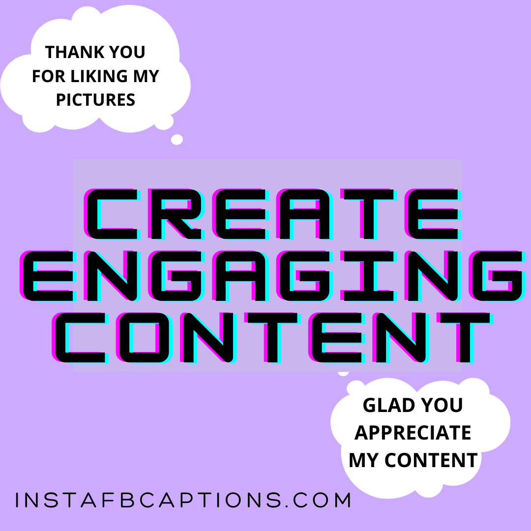 Create Engaging Content  - Create Engaging Content - SELL PRODUCTS – Make Money From Instagram