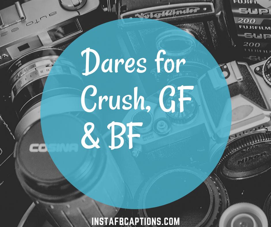 Dares For Crush, Gf & Bf  - Dares for Crush GF BF - 100+ Best Instagram Dares || Instagram Dare Games and Stories