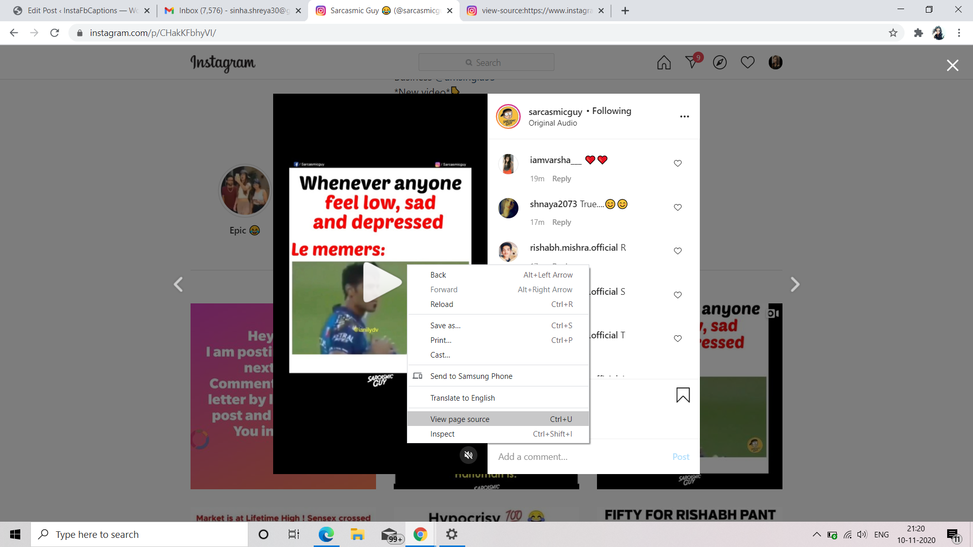 Download Instagram Videos To Computer Via Source Code  - Download Instagram videos to Computer via Source Code - Download Instagram Videos (14 Methods) – PC, Android, iPhone, Apps