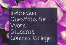 Icebreaker Questions For Work Students Couples College