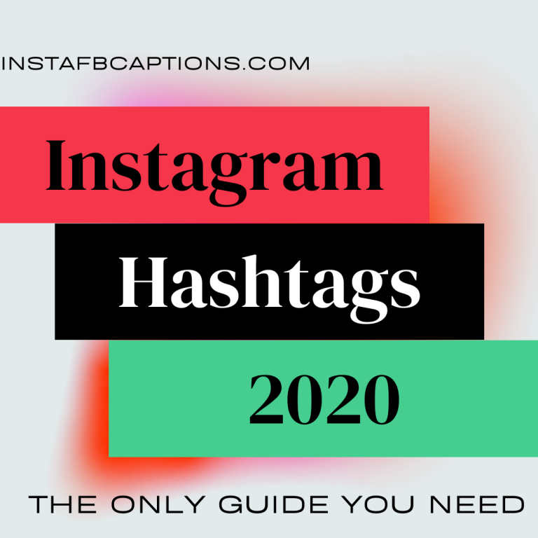 Instagram Hashtags 2020 The Only Guide You Need. 768x768  - Instagram Hashtags 2020 The Only Guide You Need - Instagram Influencing – Make Money From Instagram (Method 4)