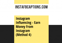 Instagram Influencing Earn Money From Instagram (method 4)