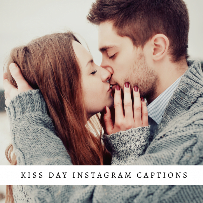 Kiss Day Instagram Captions