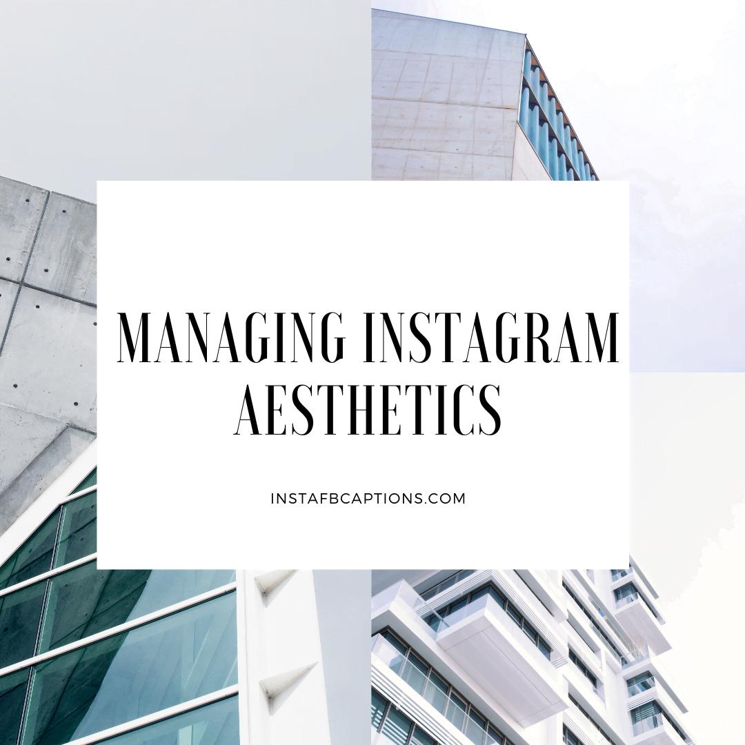 Managing Instagram Aesthetics  - Managing Instagram Aesthetics - INSTAGRAM INFLUENCING – Make Money From Instagram