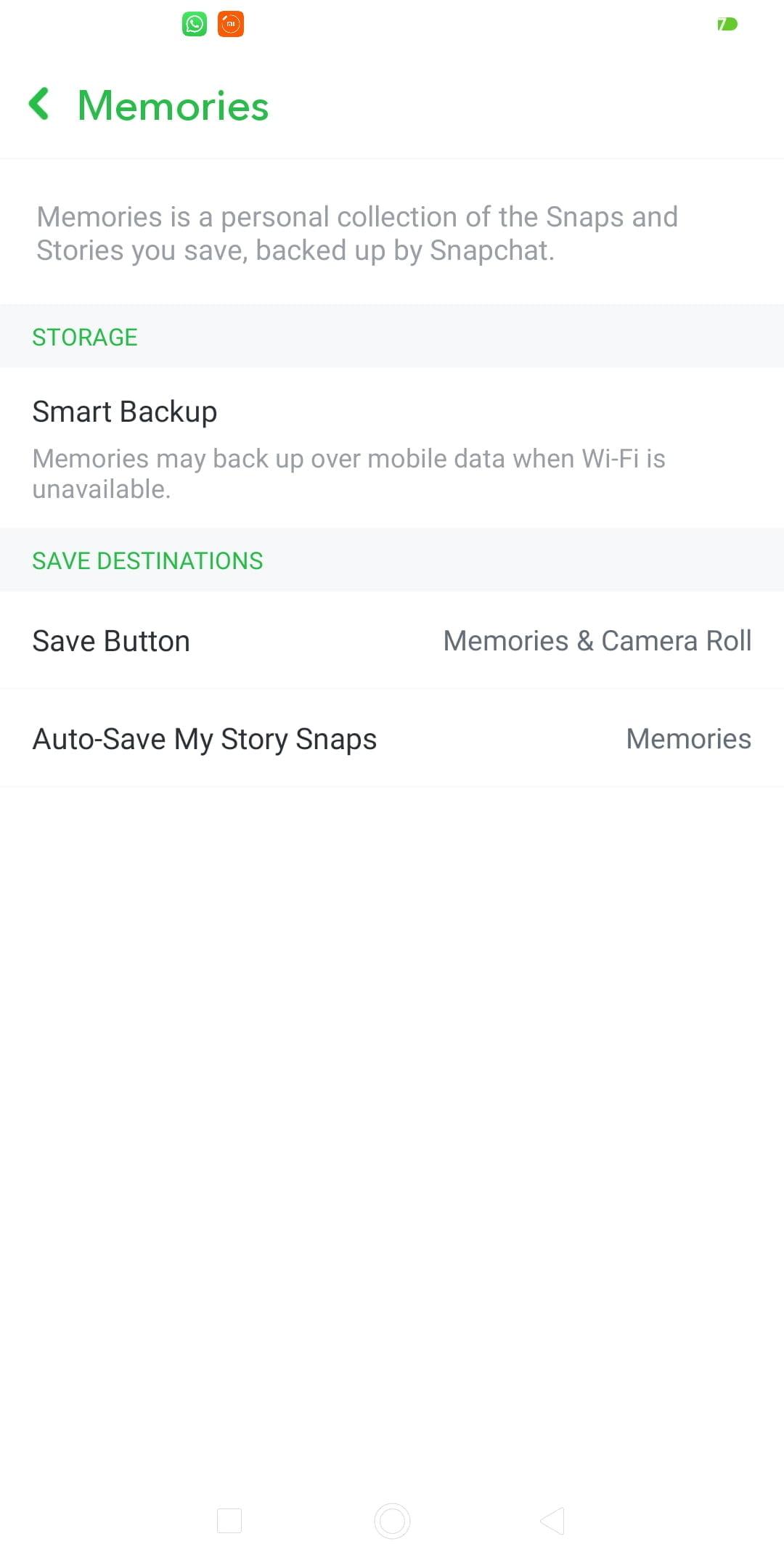 Memories  - Memories - 31 Best SNAPCHAT HACKS, Features & Tricks 2021