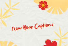 New Year Captions, Quotes, Wishes