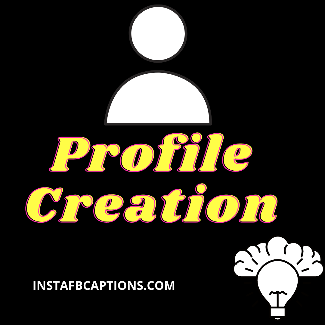 Profile Creatio  - Profile Creation - Social Media MARKETING SERVICES – Make Money From Instagram