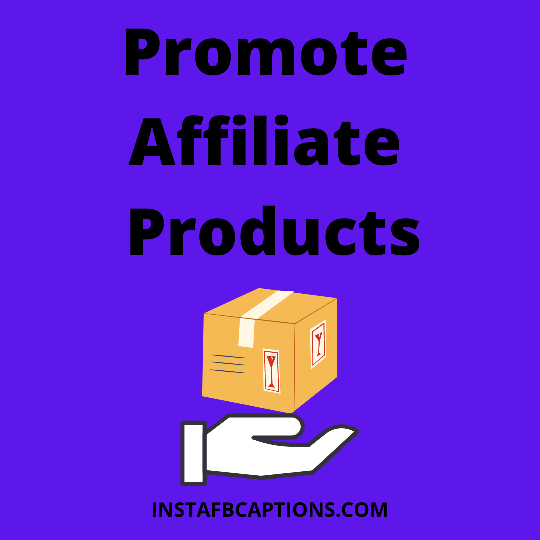 Promote Affiliate Products  - Promote Affiliate Products - Affiliate Marketing – Make Money From Instagram (Method 2)