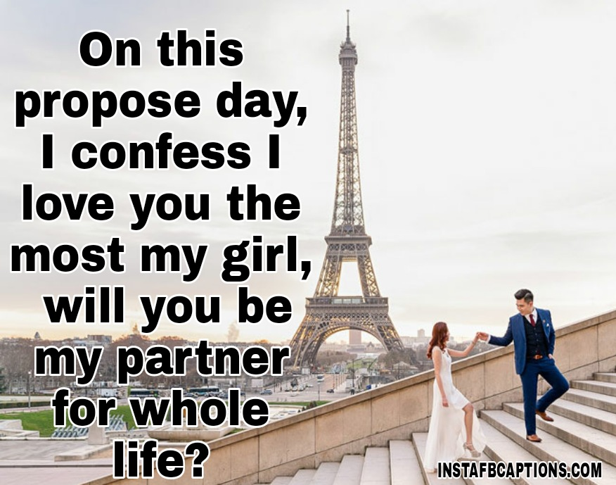 Propose Day Quotes For Husband  - Propose Day Quotes for Husband - 250+ PROPOSE Day Instagram Captions & Quotes 2021
