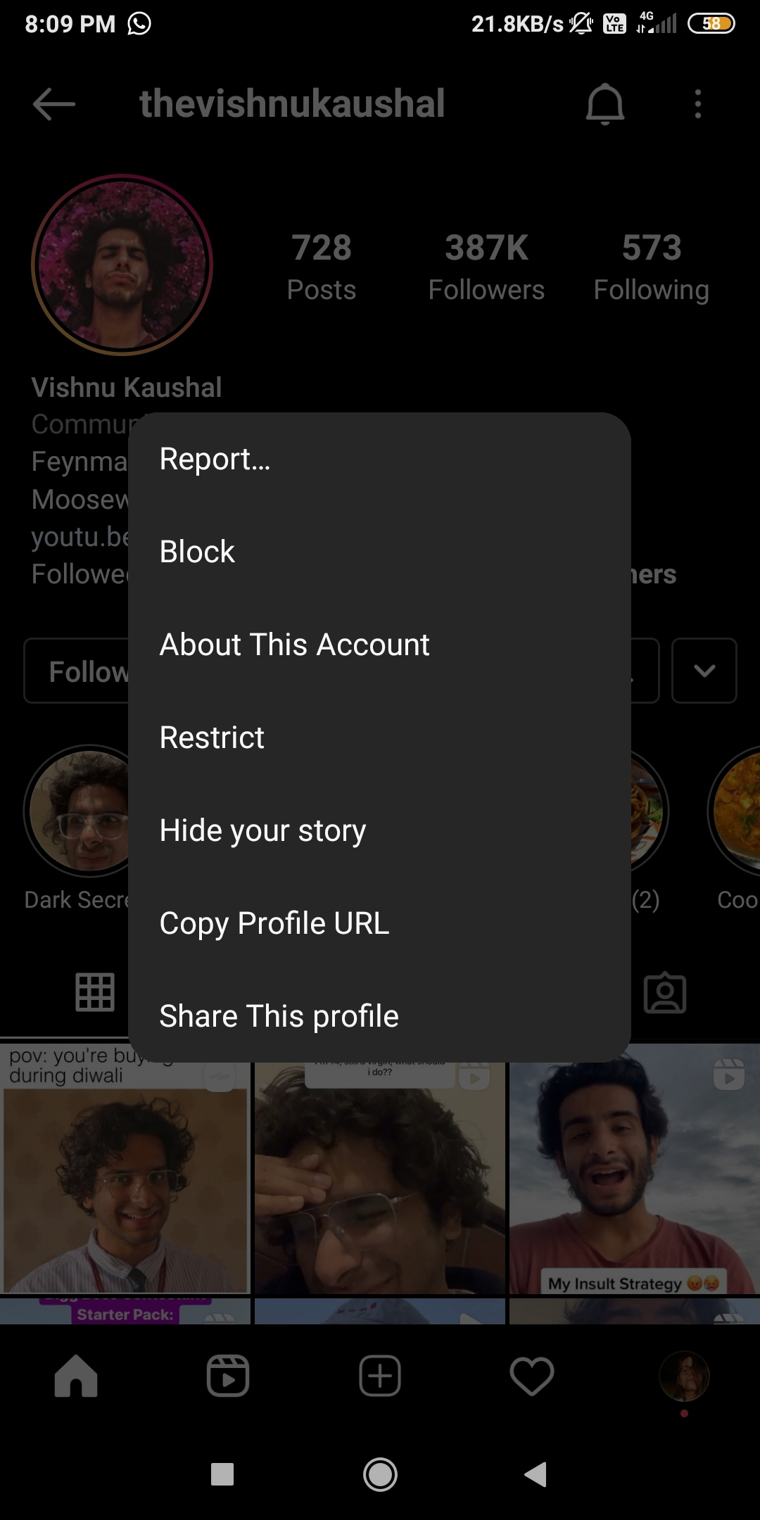 Restrict Account  - Restrict account - 34 Instagram HACKS & TRICKS to Explore in 2021