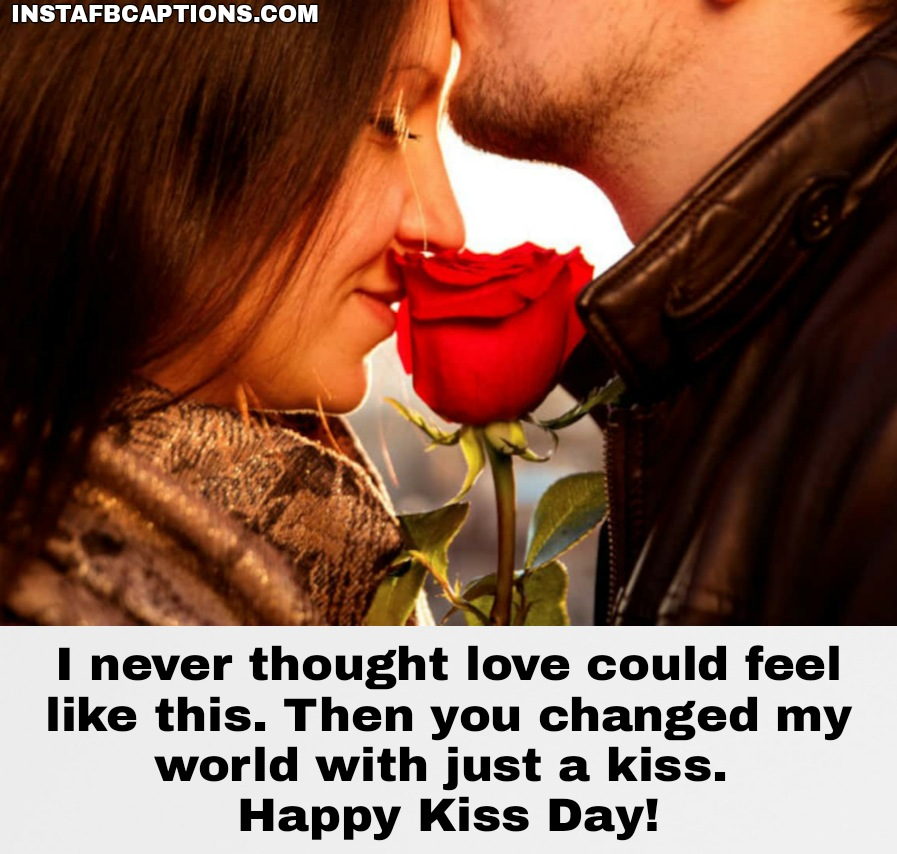 Romantic Kiss Day Wishes  - Romantic Kiss Day Wishes  - 250+ KISS DAY Instagram Captions & Quotes 2021
