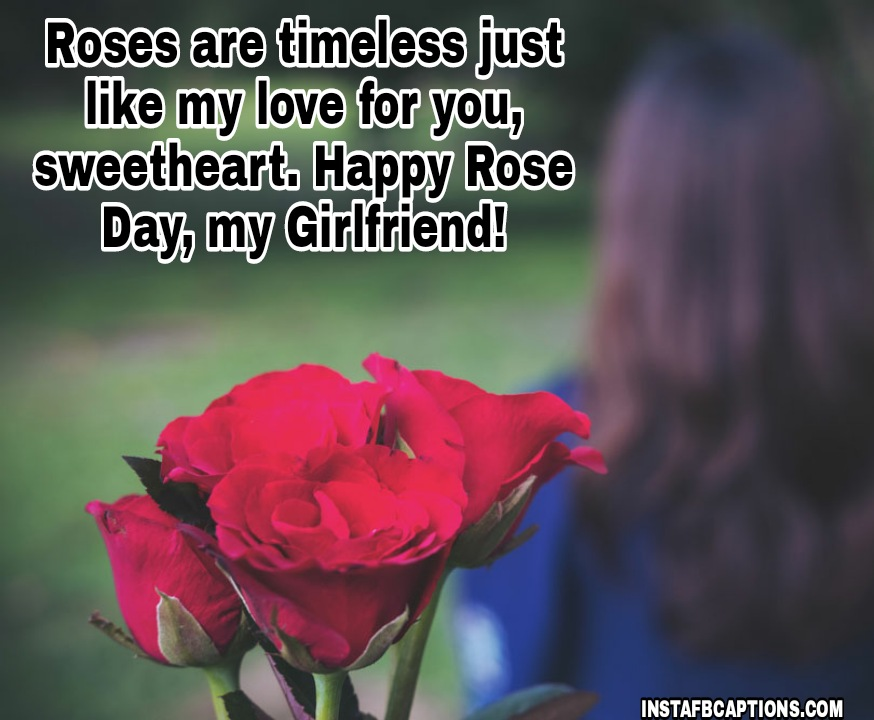 Rose Day Quotes For Girlfriend  - Rose Day Quotes for Girlfriend - 250+ ROSE DAY Instagram Captions & Quotes 2021