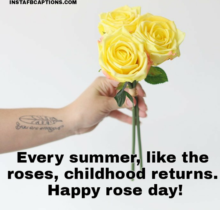 Rose Day Wishes And Thoughts  - Rose Day Wishes and thoughts - 250+ Rose Day Captions, Quotes, Status, Wishes, Messages, and Greetings