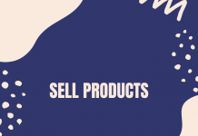 Sell Products