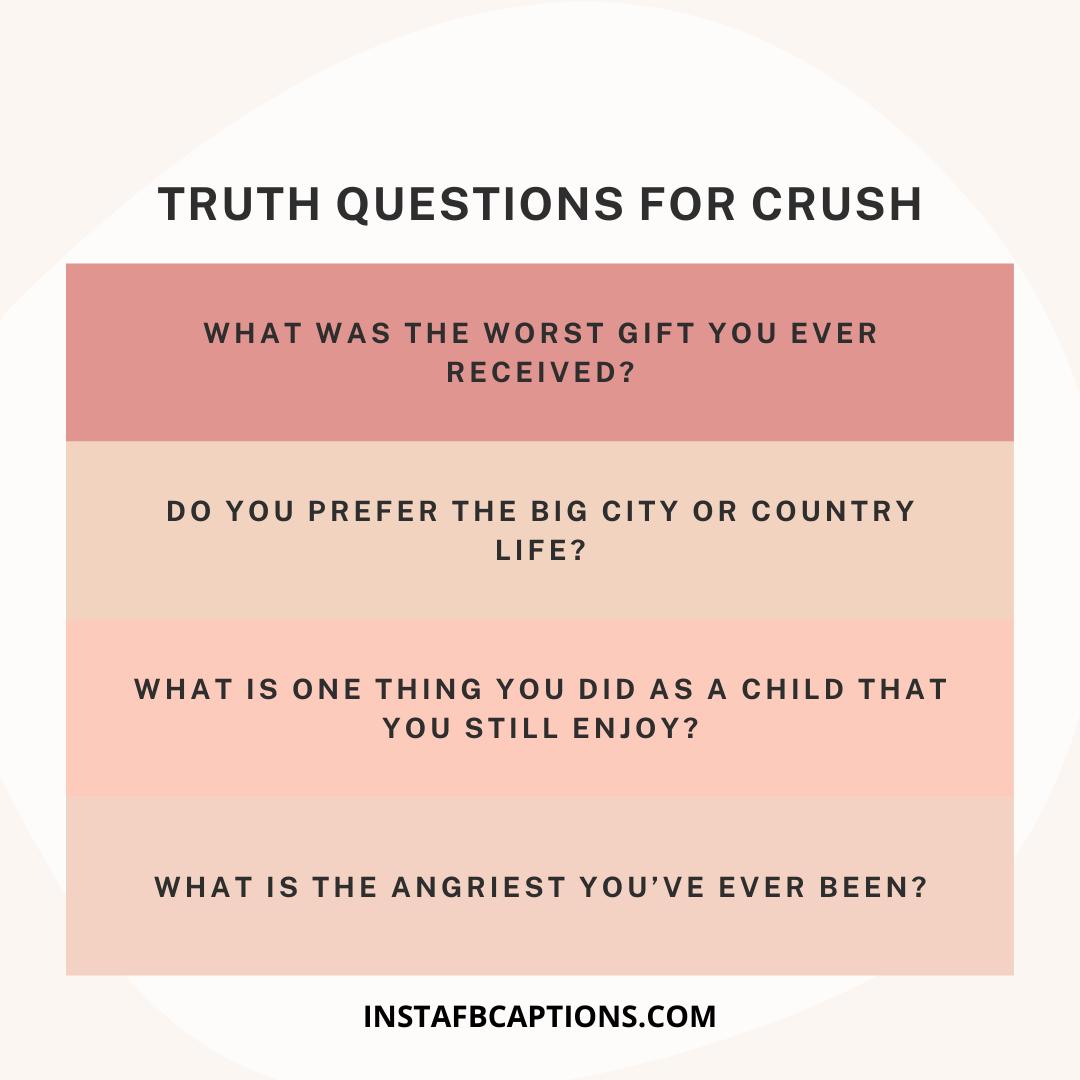 Truth Questions For Crush  - Truth Questions for Crush - 1000+ QUESTIONS for Truth Or Dare Game