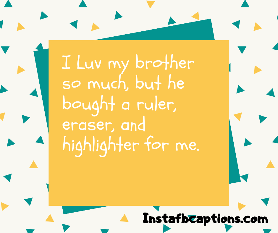 Best Brother Captions  - Best Brother Captions - 230+ Funny BROTHER Instagram Captions 2021