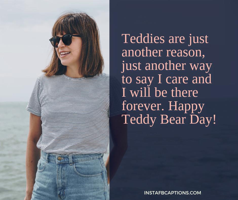 Happy Teddy Day Whatsapp Wishes  - Happy Teddy Day WhatsApp Wishes - 250+ TEDDY DAY Instagram Captions & Quotes 2021