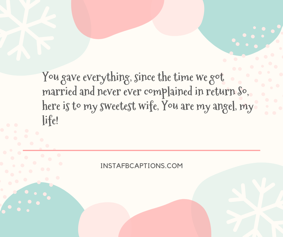 I Love You Captions For Your Wife  - I Love You Captions for your Wife - 240+ WIFE Instagram Captions & Quotes 2021