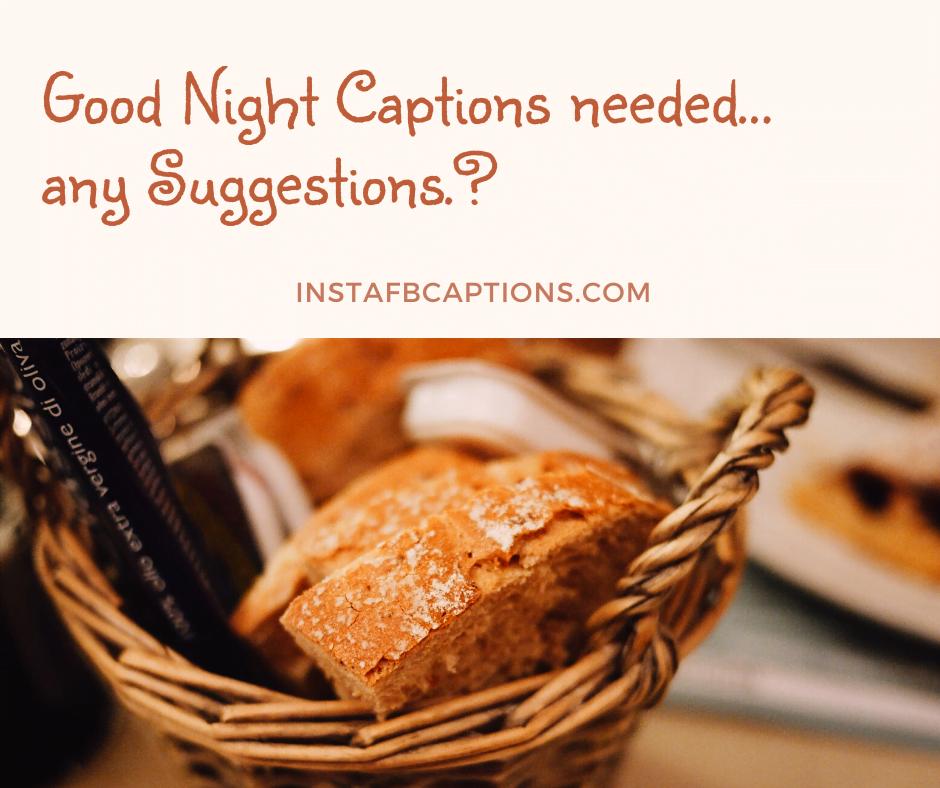 Short Goodnight Captions  - Short Goodnight Captions - 300+ GOOD NIGHT Instagram Captions 2021