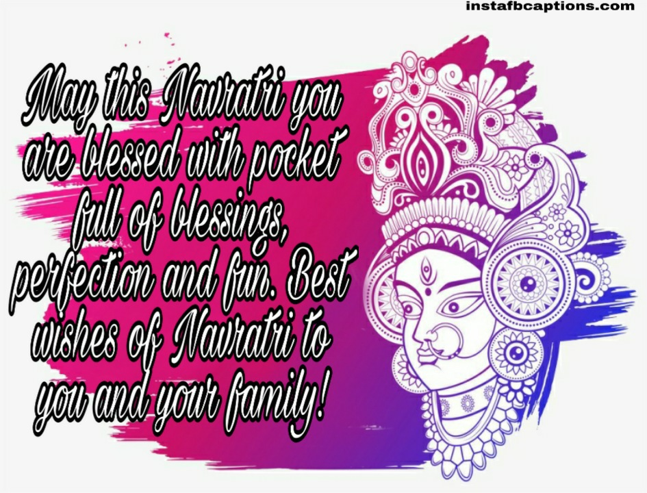 Short Navratri Wishes  - Short Navratri Wishes - 120+ NAVRATRI Captions for your Navratri Outfit Instagram Post 2021