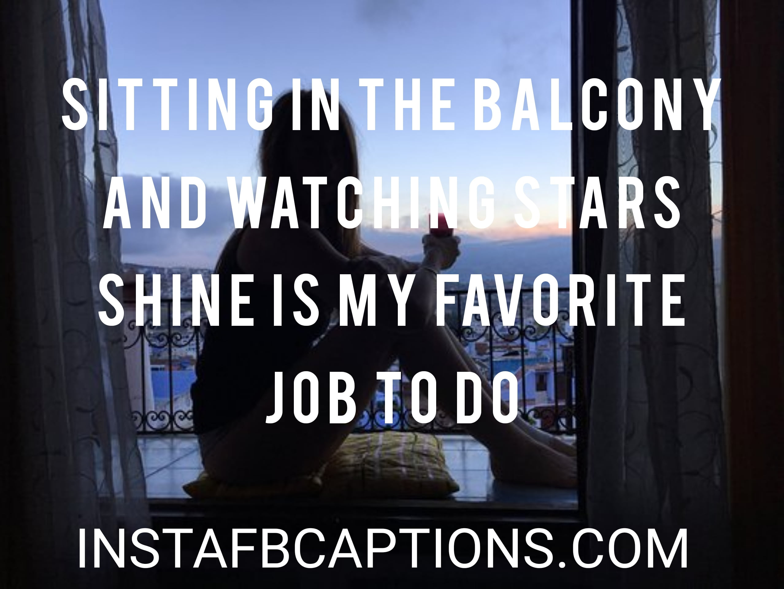 Sitting In Balcony Captions  - Sitting in Balcony Captions - 120+ SITTING POSE Instagram captions 2021